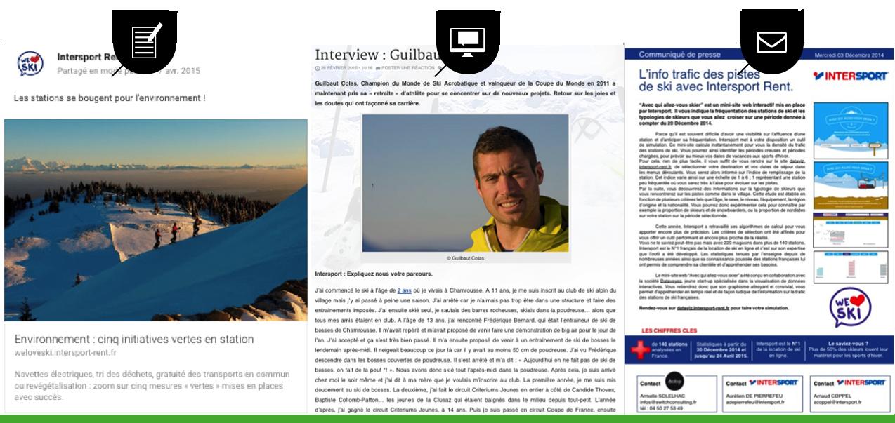 3 canaux de communication : le blog, Google + et les Relations Presse 2.0
