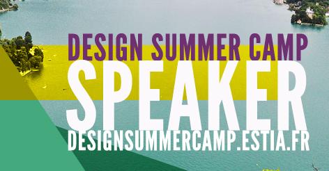 Design Summer Camp Badge Speaker