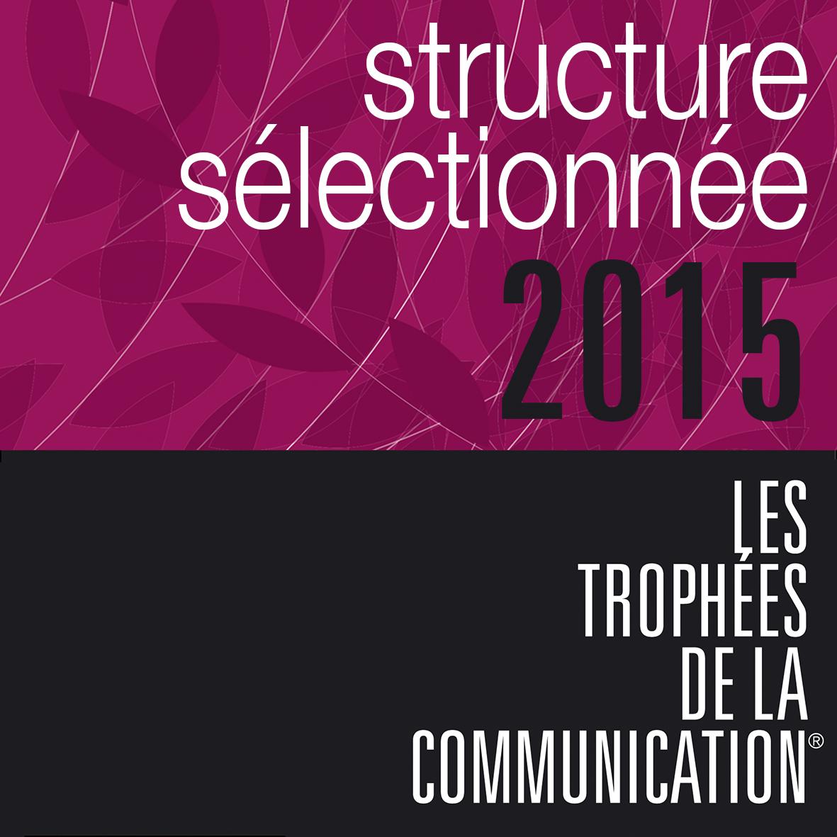 SWiTCH est sélectionnée aux Trophées de la Communication 2015
