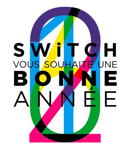 SWiTCH vous souhaite une bonne année 2016 !