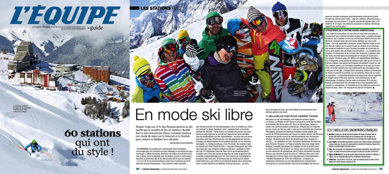 SWiTCH dans l'Equipe Magazine 2015