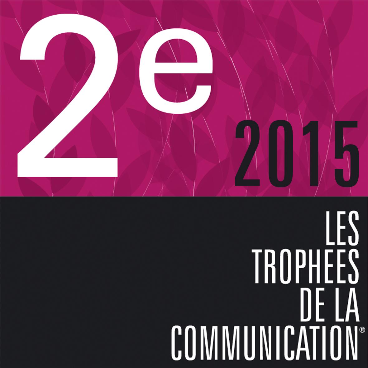 2ème trophée de la communication 2015 pour SWiTCH