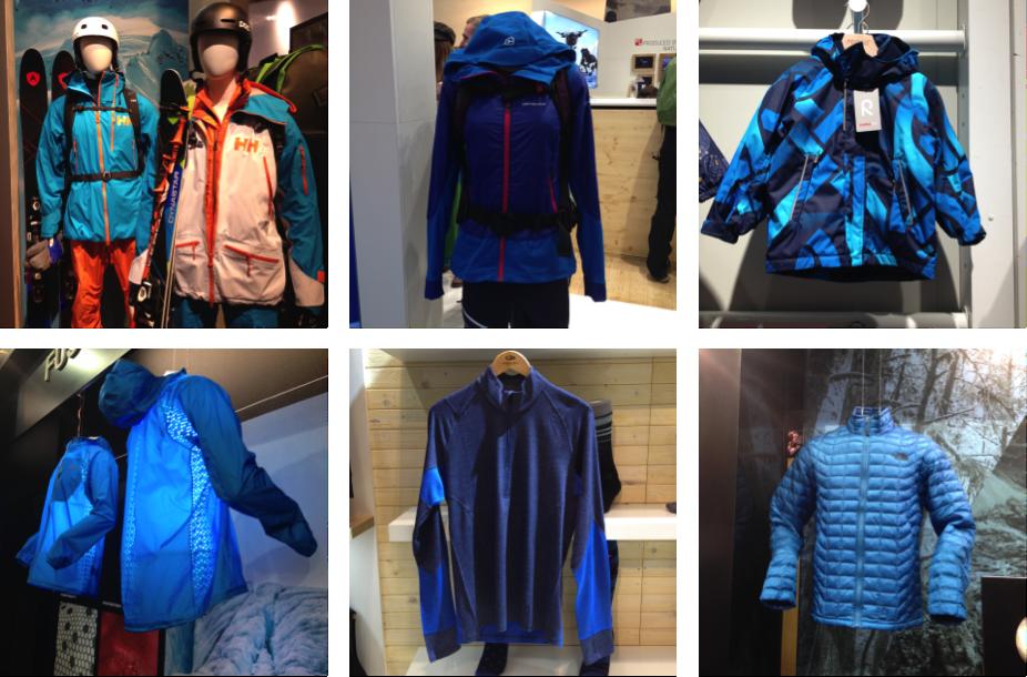 Vêtements Bleus 2017
