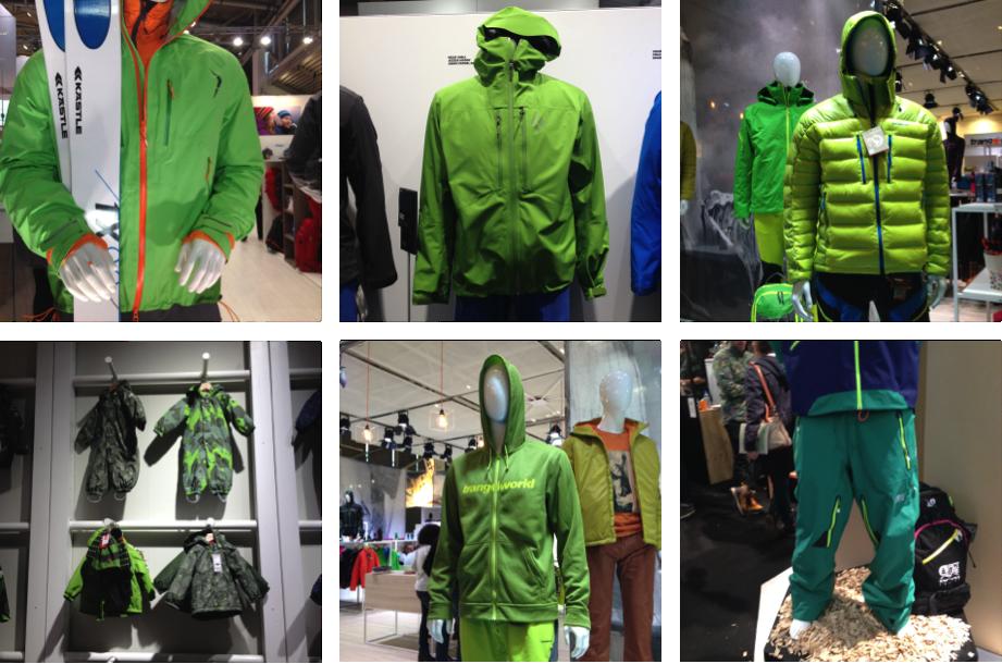 Vêtements Verts 2017