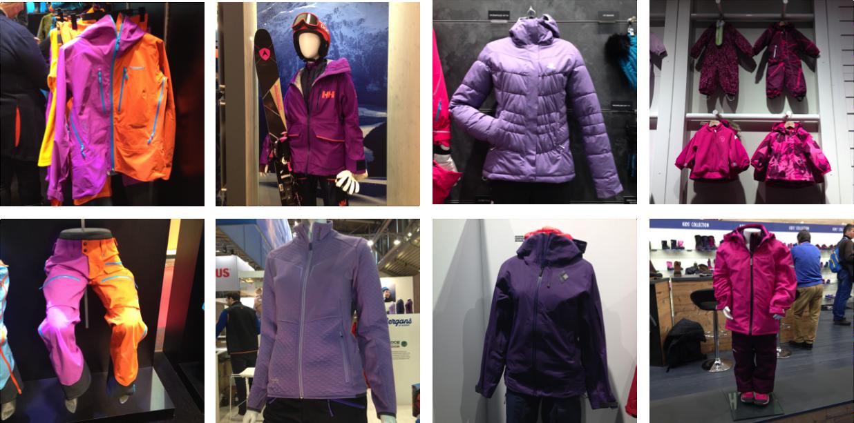 Vêtements violets 2017