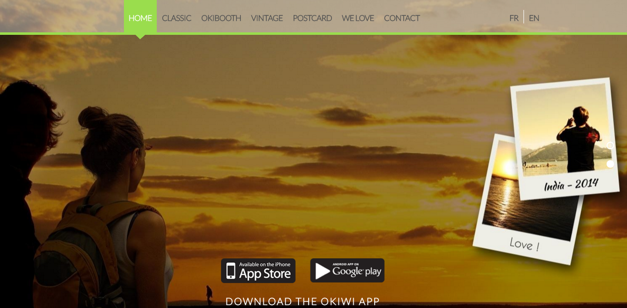 Okiwi - Homepage