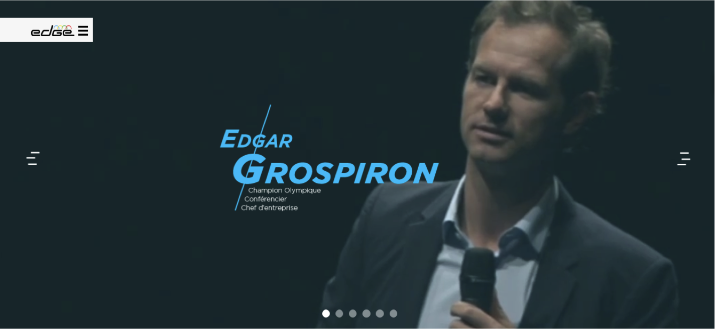 Website Edgar Grospiron - SWiTCH