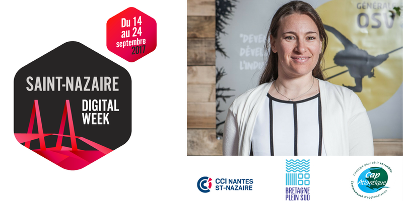 Logo St Nazaire Digital Week 2017 + Armelle Solelhac + SWiTCH