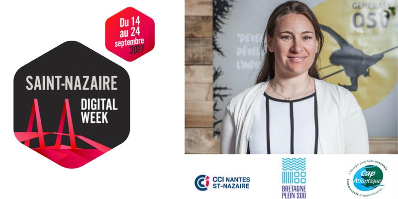 Logo St Nazaire Digital Week 2017 + Armelle Solelhac + SWiTCH